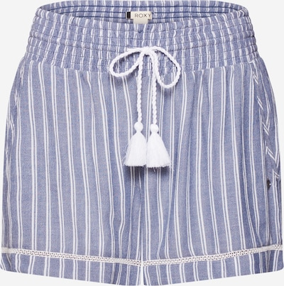 ROXY Pantalon 'BOLD BLOOMS' en indigo / blanc, Vue avec produit