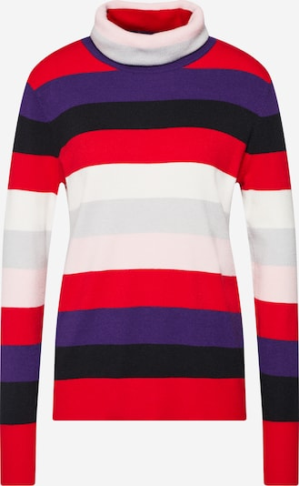 STREET ONE Pullover in lavendel / beere / rot / schwarz / weiß, Produktansicht