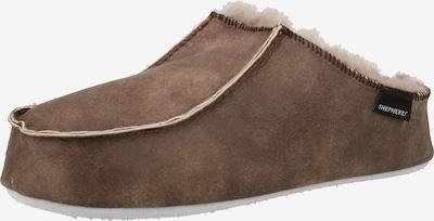 SHEPHERD Huisschoen in de kleur Stone grey, Productweergave
