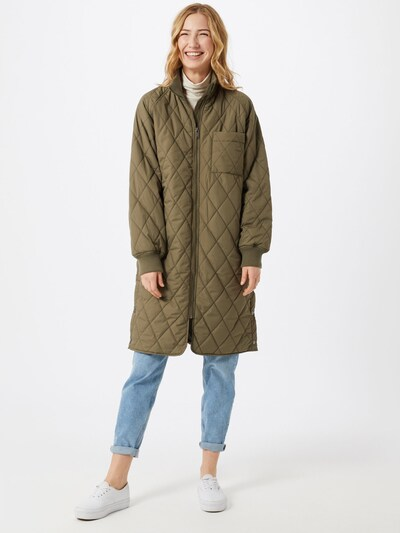 InWear Prechodný kabát 'EktraIW Quilted Coat' - jedľová, Model/-ka