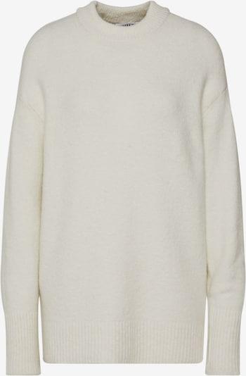 EDITED Pullover 'Sanae' in beige / weiß, Produktansicht