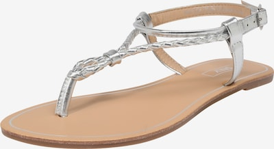 ONLY Sandale 'Margit' in silber, Produktansicht