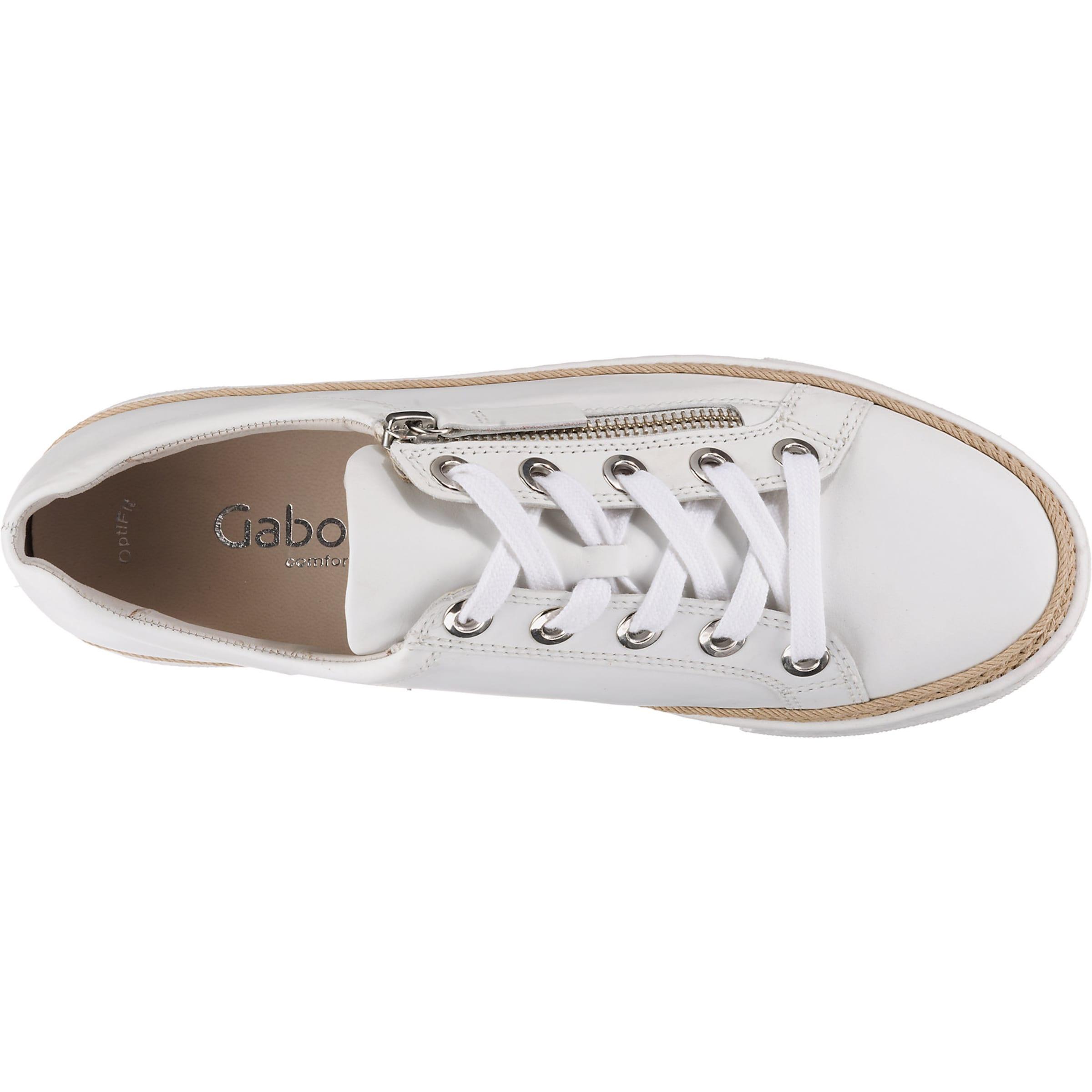 Gabor Gabor In Weiß Sneaker Gabor In Weiß Weiß Gabor Sneaker Sneaker In O8wnk0P