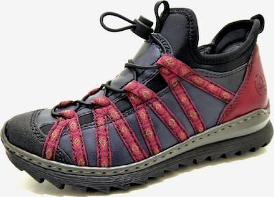 RIEKER Sneaker in marine / feuerrot, Produktansicht