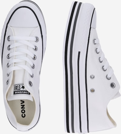 Sneaker low 'CHUCK TAYLOR ALL STAR PLATFORM LAYER - OX' CONVERSE pe alb: Privire laterală