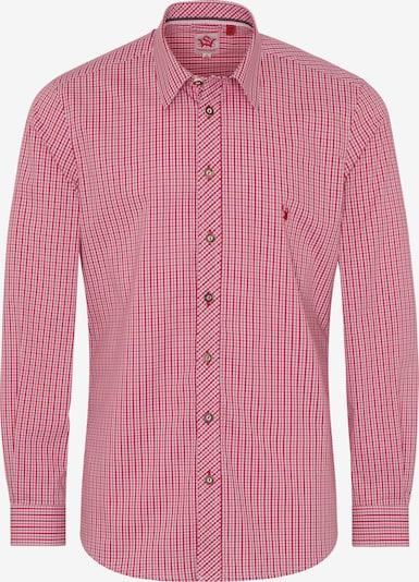 SPIETH & WENSKY Trachtenhemd 'Norman' in rot, Produktansicht