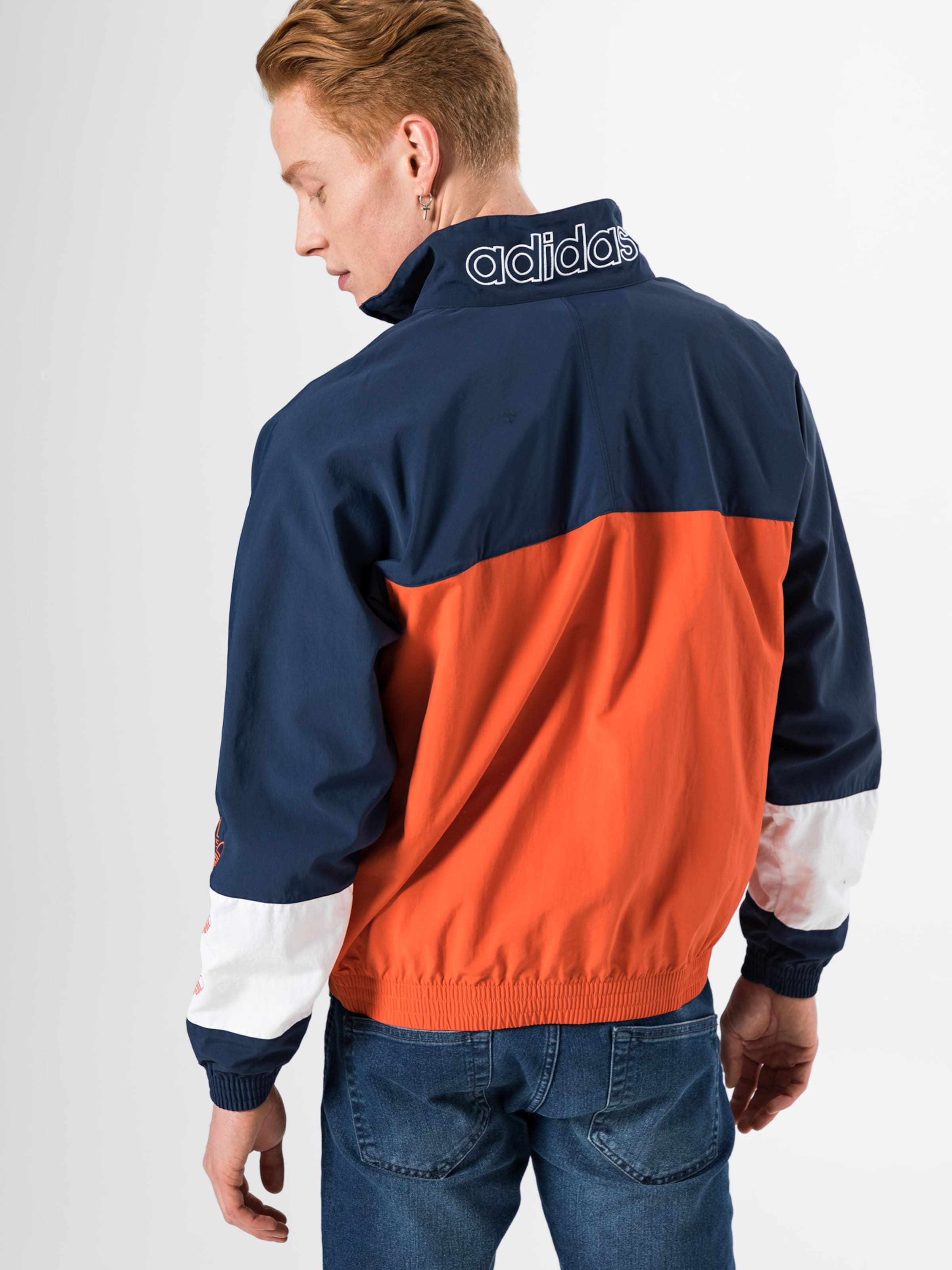 Originals Adidas 'blocked DunkelblauOrange Up' In Warm Jacke QCdtshr