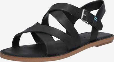 Basutės su dirželiais 'Sicly' iš TOMS , spalva - juoda, Prekių apžvalga