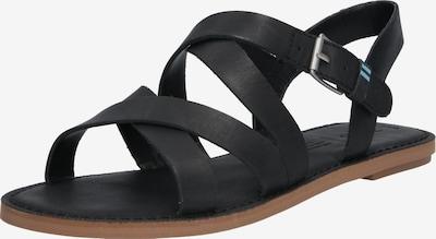 TOMS Sandalen 'SICILY' in schwarz, Produktansicht