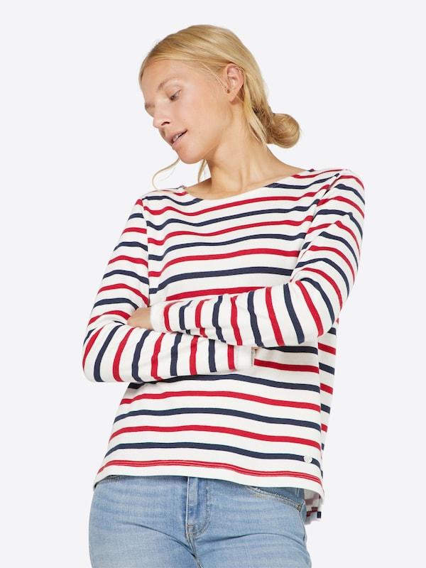 TOM TAILOR Sweater 'bonded stripe'