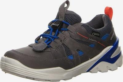 ECCO Sneakers in de kleur Blauw gemêleerd / Donkergrijs / Oranjerood, Productweergave