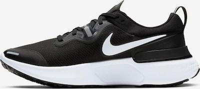 NIKE Schuhe 'React Miler' in schwarz / weiß, Produktansicht