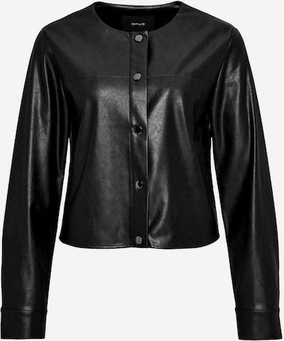 OPUS Kunstlederjacken in schwarz, Produktansicht