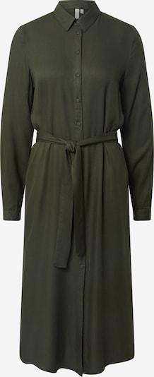 PIECES Kleid 'Barbel' in dunkelgrün: Frontalansicht