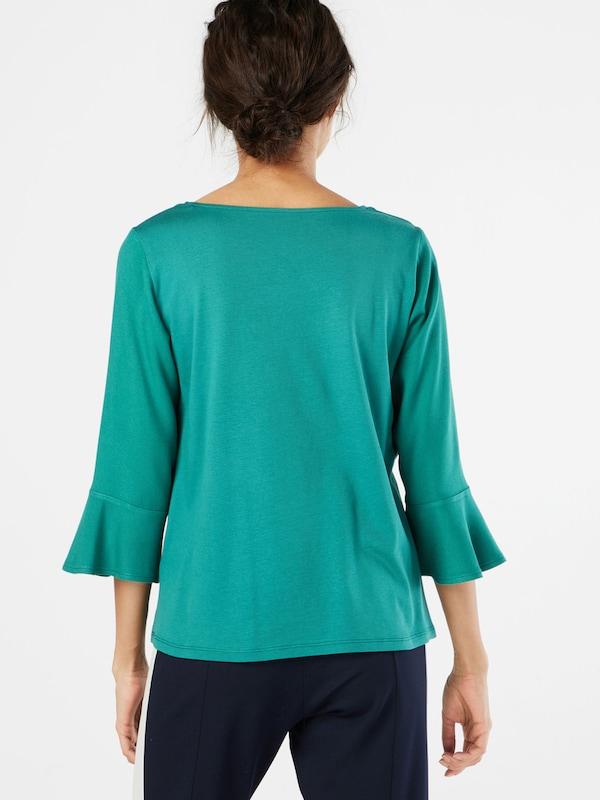 TOM TAILOR Sweatshirt 'Trendy Flounce'