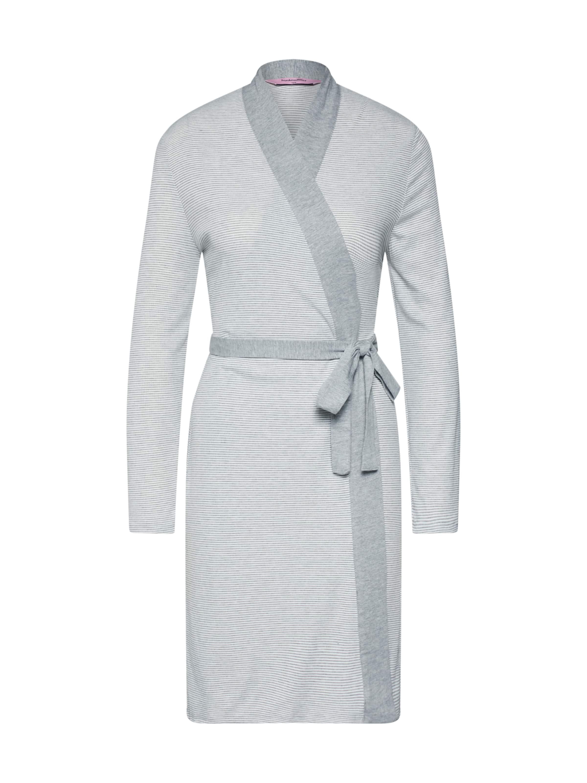 Rib' Morgenmantel Jersey In 'robe Grau Hunkemöller CdBoxe