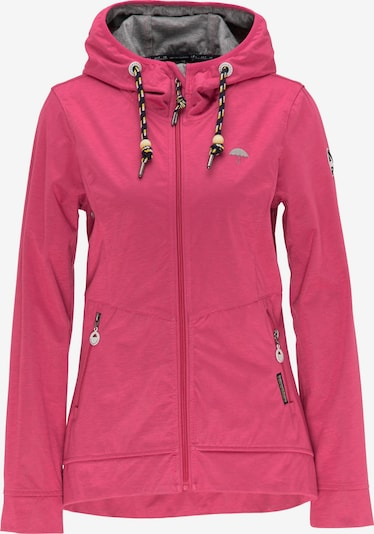 Schmuddelwedda Funktionsjacke in pink, Produktansicht