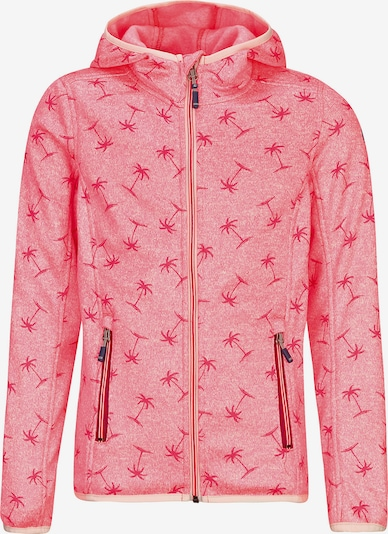KILLTEC Fleecejacke in pink, Produktansicht