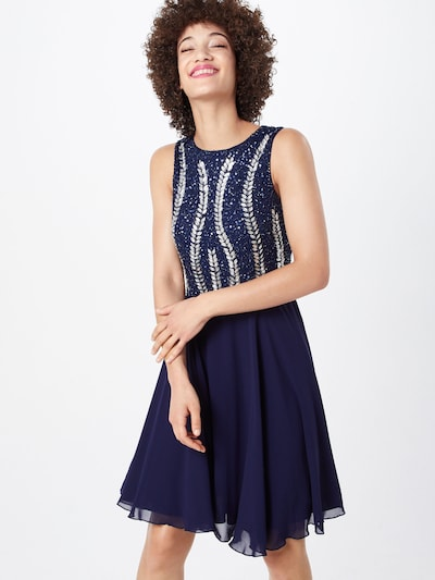 LACE & BEADS Kleid 'Bunny Dress' in navy / silber, Modelansicht