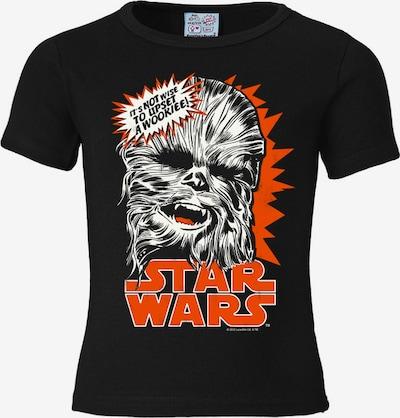 """LOGOSHIRT T-Shirt """"Chewbacca"""" in orangerot / schwarz / weiß, Produktansicht"""