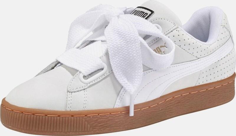 PUMA  Basket Heart Perf  Sneaker