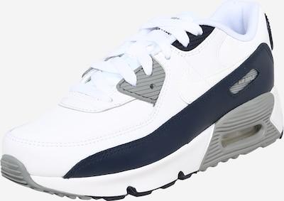 Nike Sportswear Sneaker 'AIR MAX 90 LTR (PS)' in dunkelblau / weiß, Produktansicht