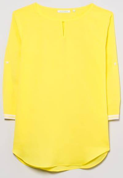 ETERNA Dreiviertelarm Bluse MODERN CLASSIC in gelb, Produktansicht