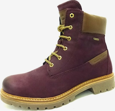 CAMEL ACTIVE Stiefelette in beige / bordeaux: Frontalansicht