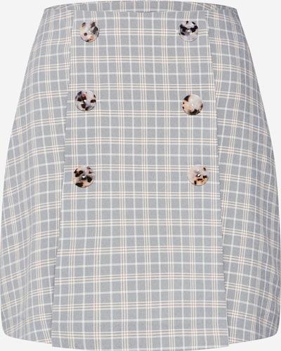 Fashion Union Suknja 'BETTY SKIRT' u bež / siva / bijela, Pregled proizvoda
