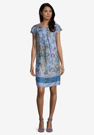 Betty Barclay Freizeitkleid mit Blumenprint in hellblau / rosé, Modelansicht
