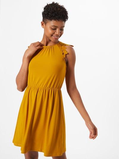 ONLY Kleid 'Silja' in safran, Modelansicht
