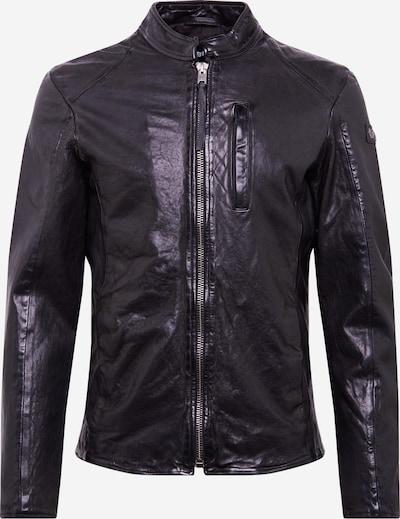 tigha Lederjacke 'Wesney' in schwarz, Produktansicht