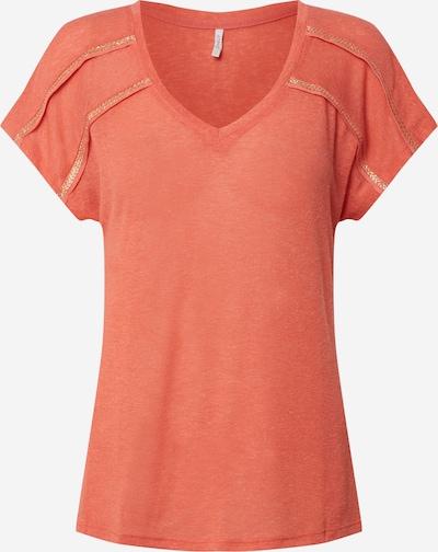 ONLY Shirt 'ONLFILIPA S/S TOP CS JRS' in de kleur Donkeroranje, Productweergave