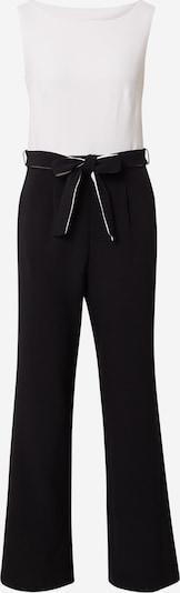 s.Oliver BLACK LABEL Jumpsuit in schwarz / weiß, Produktansicht