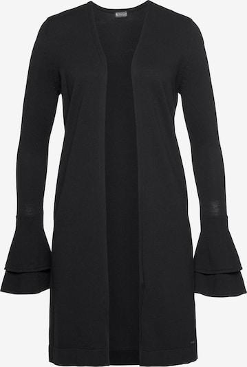 LAURA SCOTT Strickjacke in schwarz, Produktansicht