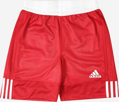 ADIDAS PERFORMANCE Sport-Shorts '3G Speed Reversible' in rot / weiß, Produktansicht