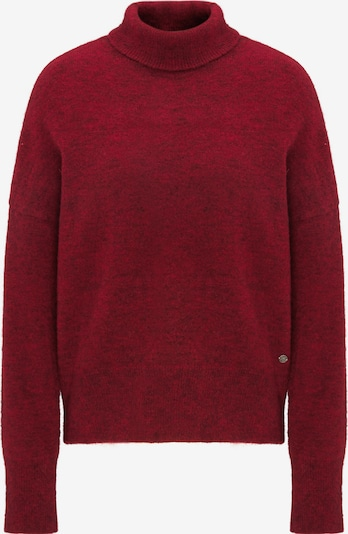 MUSTANG Sweater ' Strickpullover ' in rot, Produktansicht