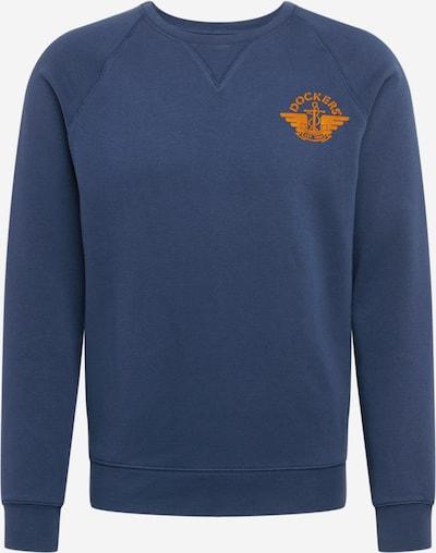 Dockers Sweatshirt i mörkblå / orange, Produktvy