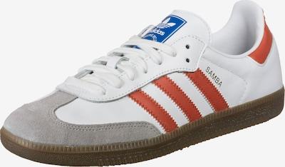 ADIDAS ORIGINALS Sneaker 'Samba' in rot / weiß, Produktansicht