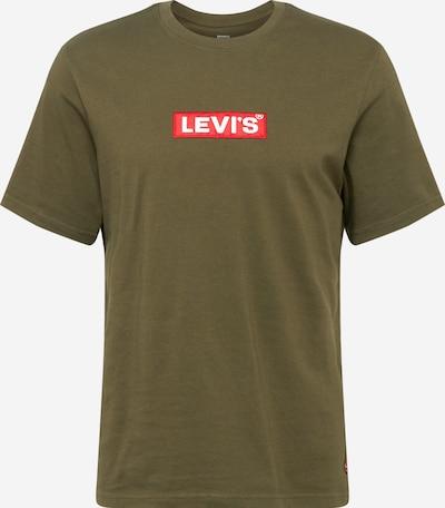 LEVI'S T-Shirt en olive, Vue avec produit