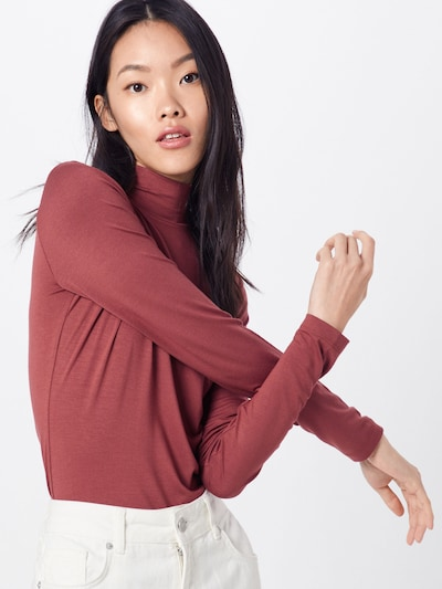 Tricou 'Franka' ABOUT YOU pe maro ruginiu, Vizualizare model