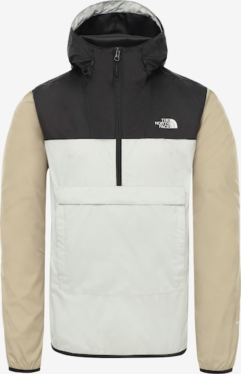 THE NORTH FACE Windbreaker 'FANORAK' in beige / schwarz / weiß, Produktansicht