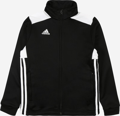 ADIDAS PERFORMANCE Trainingssweatjacke 'Regista 18' in schwarz / weiß, Produktansicht