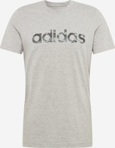 ADIDAS PERFORMANCE Functioneel shirt in de kleur Grijs / Zwart, Productweergave