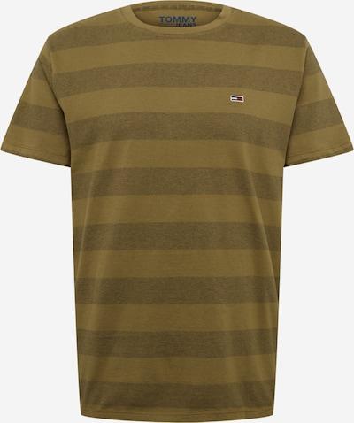 Tommy Jeans Shirt 'TJM BOLD STRIPE' in oliv, Produktansicht