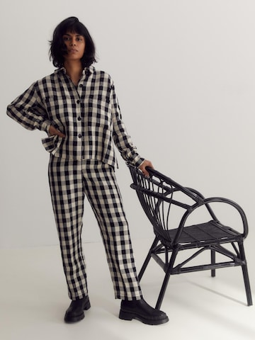 Checked Total Look