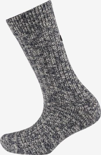 BIRKENSTOCK Socken in kobaltblau / weiß, Produktansicht
