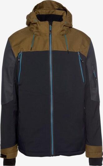 KILLTEC Skijacke in dunkelbeige / dunkelblau, Produktansicht