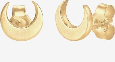 ELLI Ohrringe 'Halbmond' in gold, Produktansicht