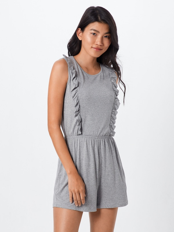 ABOUT YOU Jumpsuit 'Stina' in grau, Modelansicht
